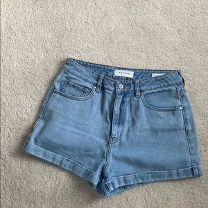 High waisted mom shorts from pacsun